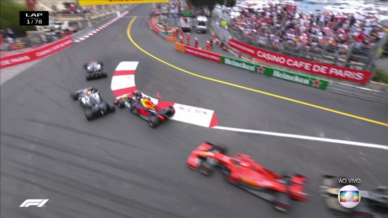 Largada GP de Mônaco