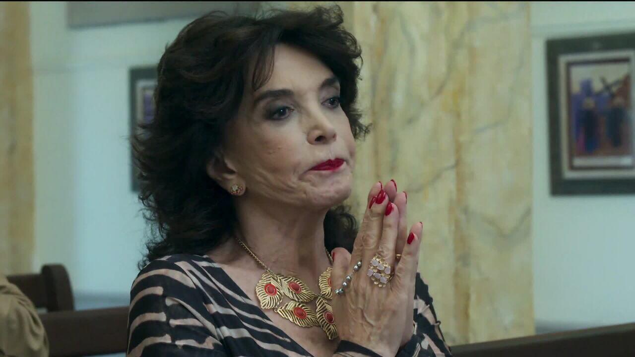 Corpo da atriz Lady Francisco foi velado no Teatro Leblon, no Rio