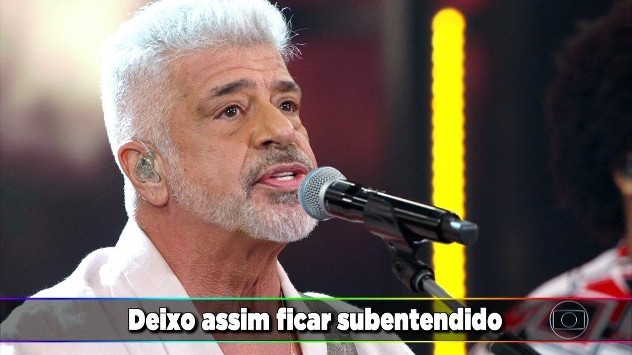 """Lulu Santos canta """"Apenas mais uma de amor"""""""