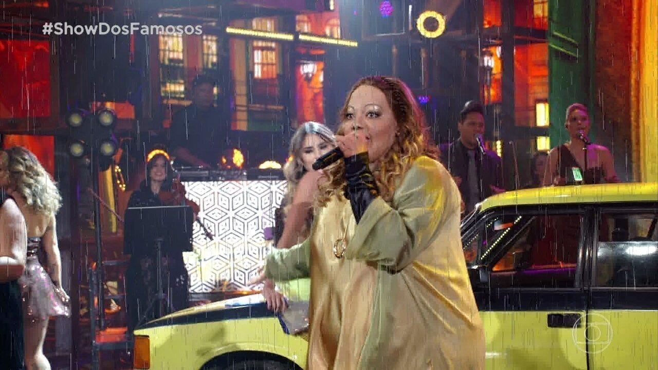 "Ludmilla homenageia Dayse do Fat Family e canta ""Jeito Sexy"""