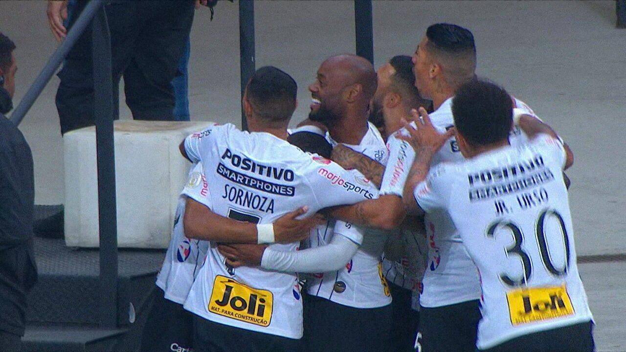 O gol de Corinthians 1 x 0 São Paulo pela 6ªrodada do Campeonato Brasileiro