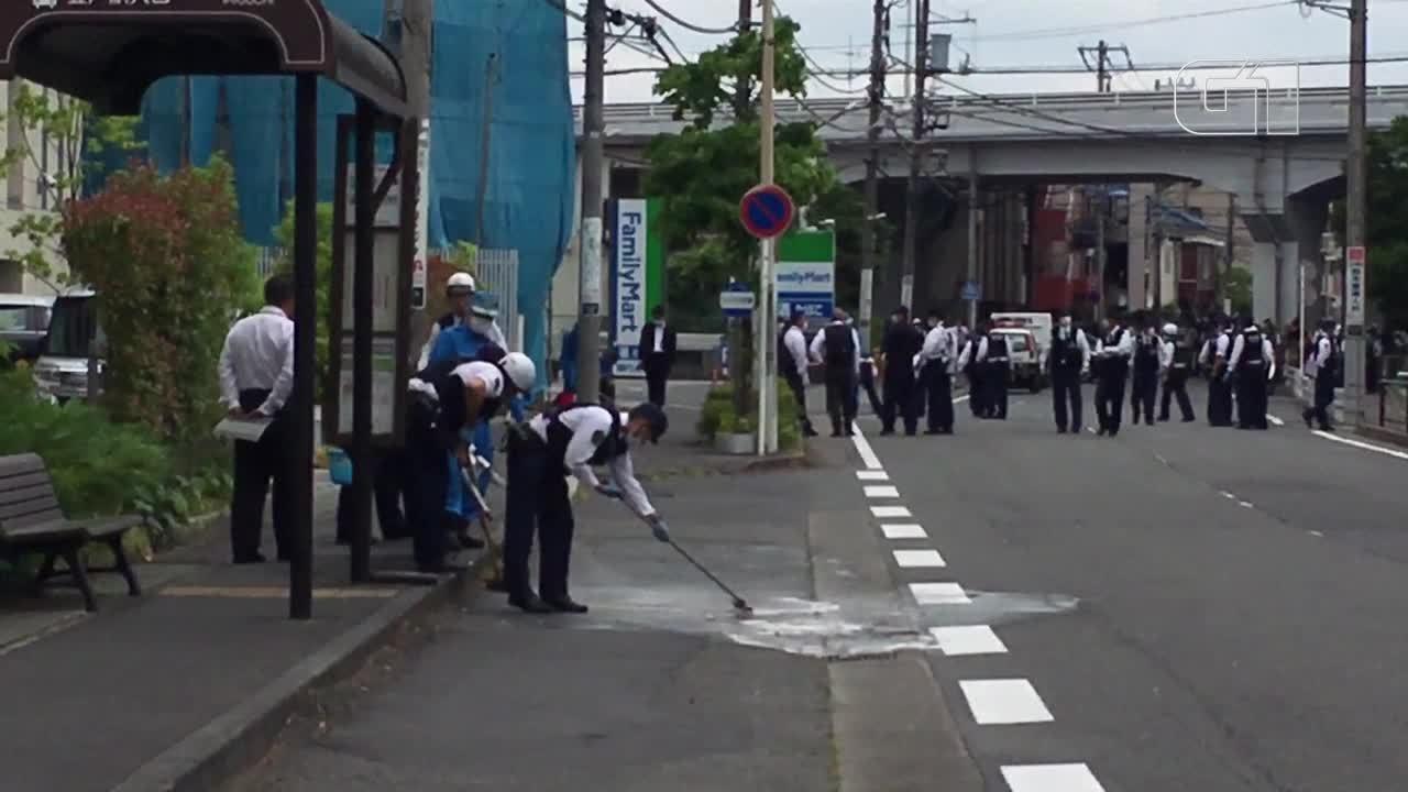 Agressor ataca com faca um grupo de crianças no Japão