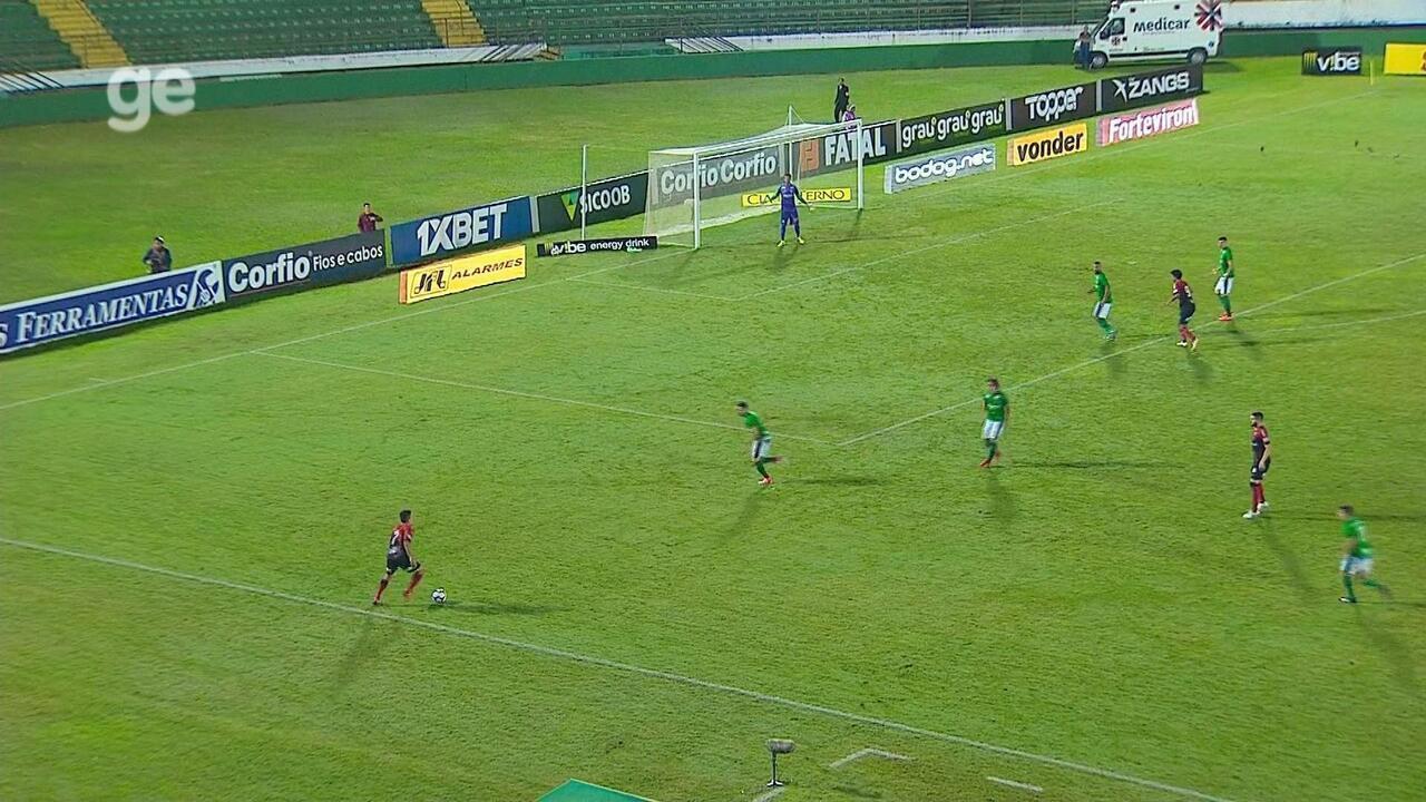 Confira os melhores momentos entre Guarani 1 x 2 Brasil de Pelotas