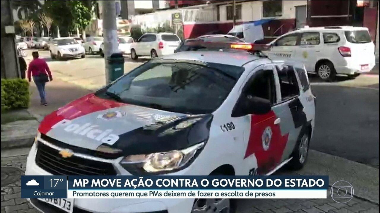 Ministério Público move ação contra o governo do Estado