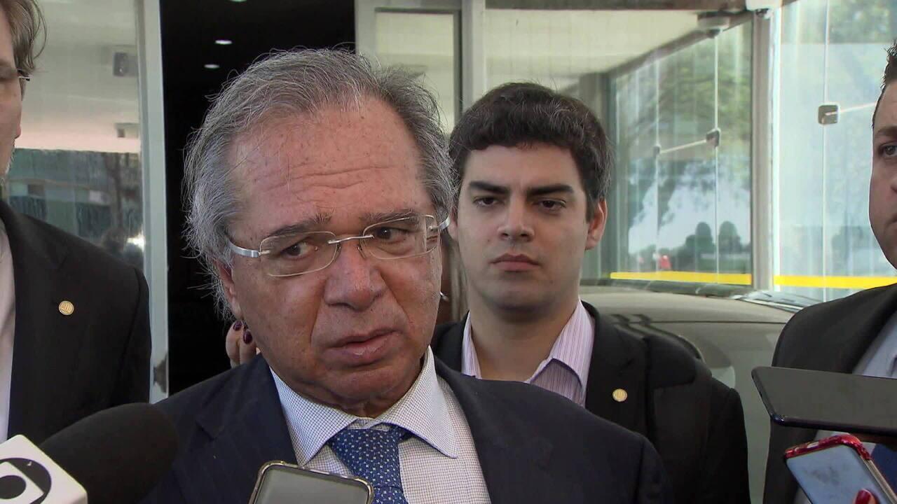 Ministro da Economia, Paulo Guedes, avalia liberar dinheiro de contas ativas do FGTS