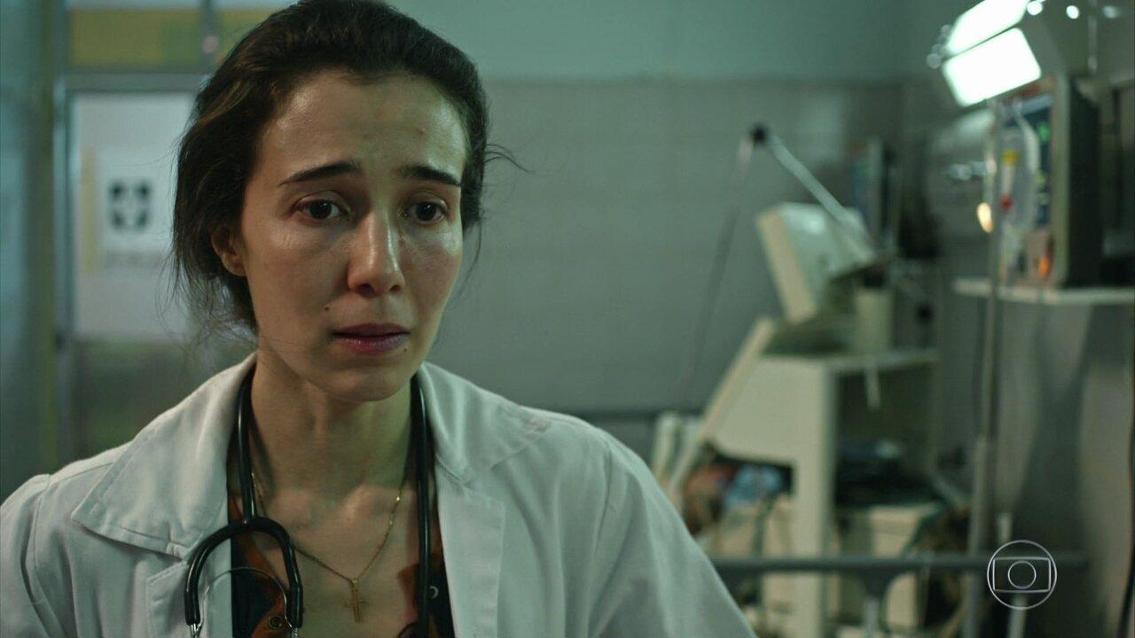 Ariane não resiste aos ferimentos e morre