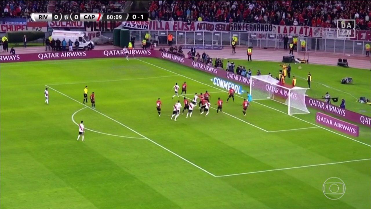 Veja os gols de River Plate 3 x 0 Athletico, pela segunda partida da Recopa Sul-Americana