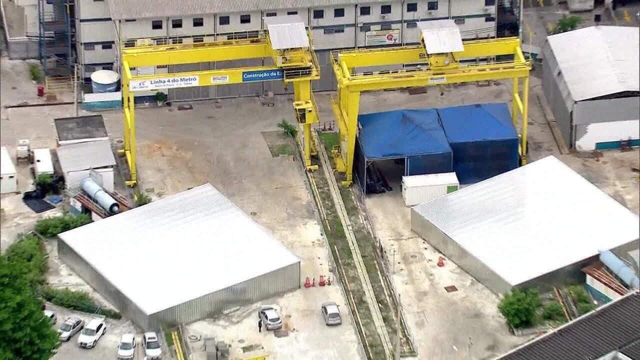 Procuradoria-geral do Estado pede à Justiça retomada das obras do Metrô da Gávea