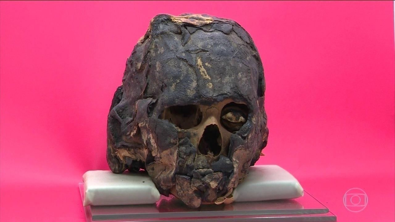 Pesquisadores do Rio Grande do Sul descobrem múmia egípcia no interior do estado