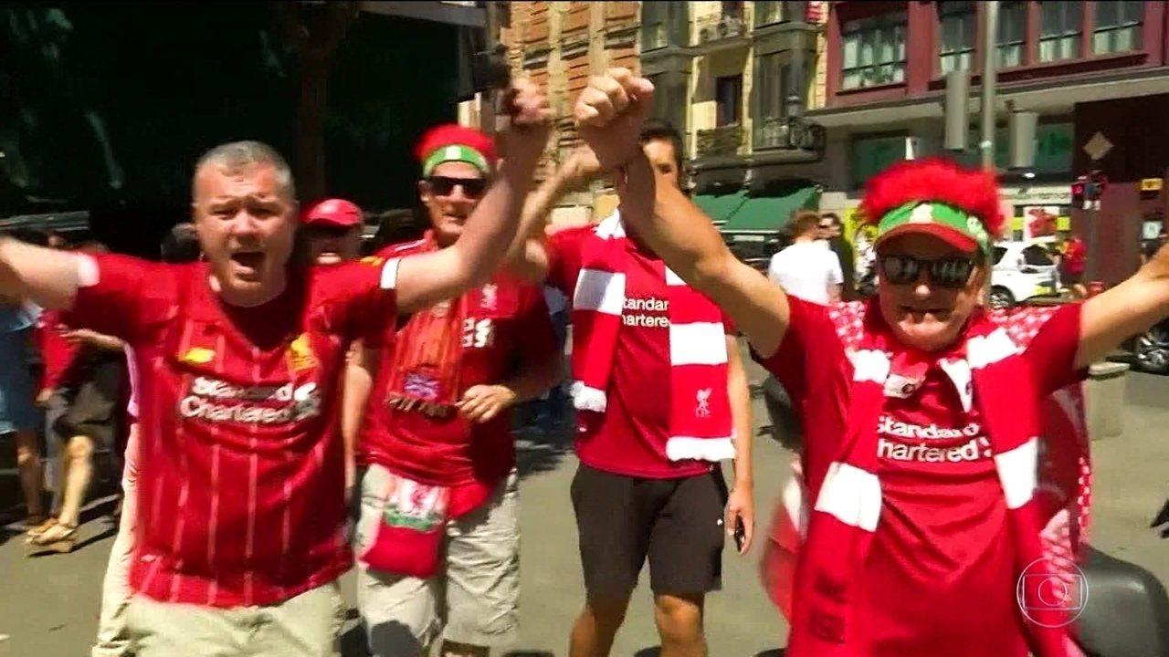 Liverpool vence o Tottenham e conquista o título da Liga dos Campeões