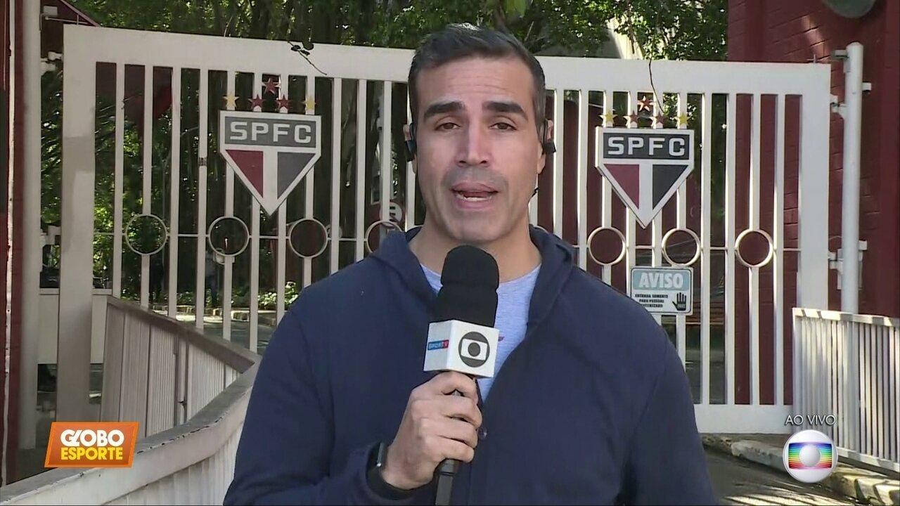 Ale Oliveira traz as informações do São Paulo, que pega o Avaí no próximo sábado