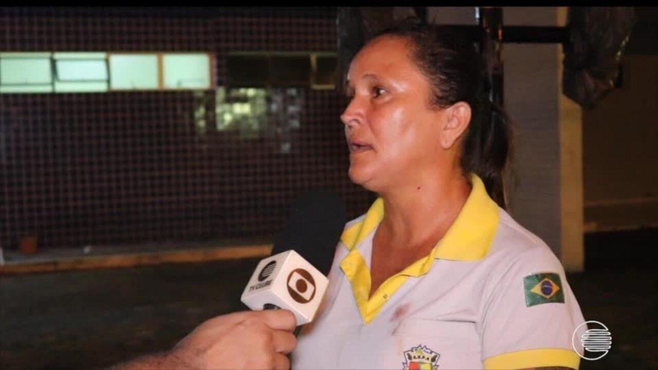 Árbitra fala sobre agressão sofrida em jogo de futsal em universidade de Parnaíba