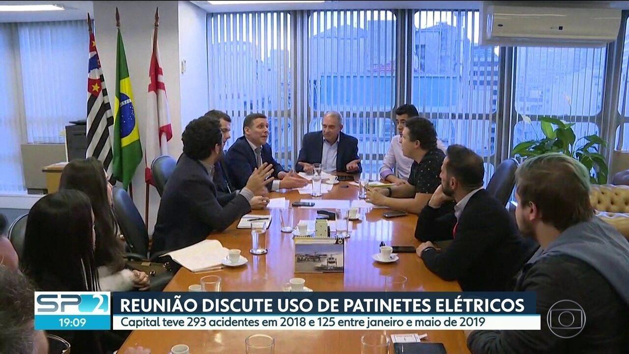 Reunião discute uso de patinetes elétricos na Capital