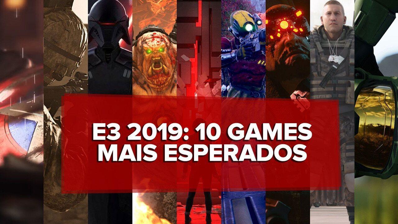 Assista ao vídeo com os 10 games mais esperados da E3 2019
