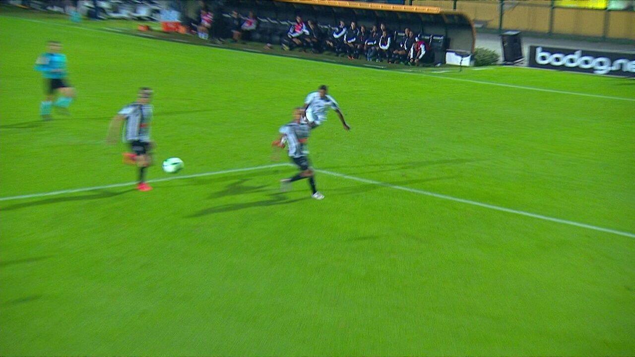Melhores momentos: Santos 1 x 2 Atlético-MG pelas oitavas de final da Copa do Brasil