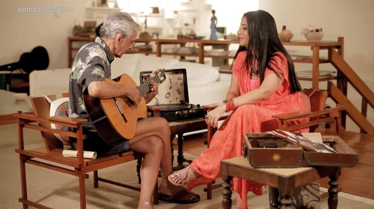 No último episódio da série, Caetano Veloso fala sobre Anitta, Psirico e Baco Exu do Blues