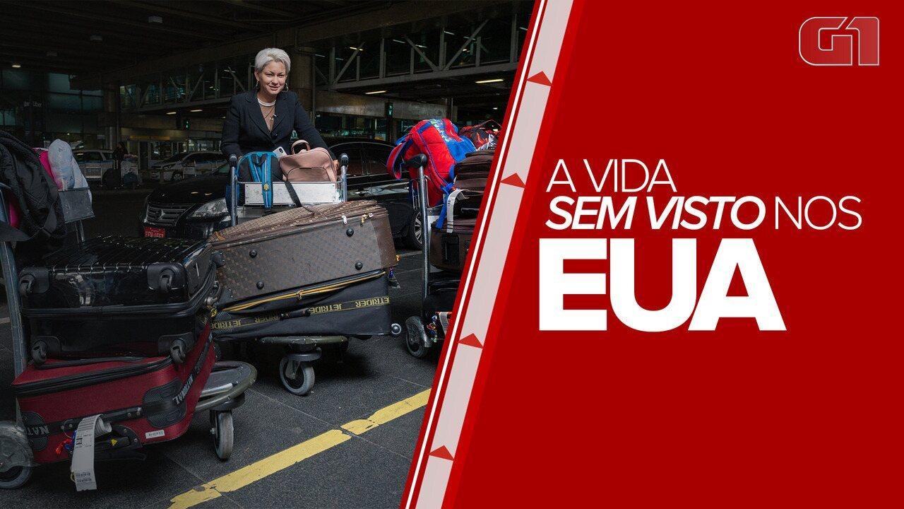 Brasileiros que entraram sem visto nos EUA retornam ao Brasil