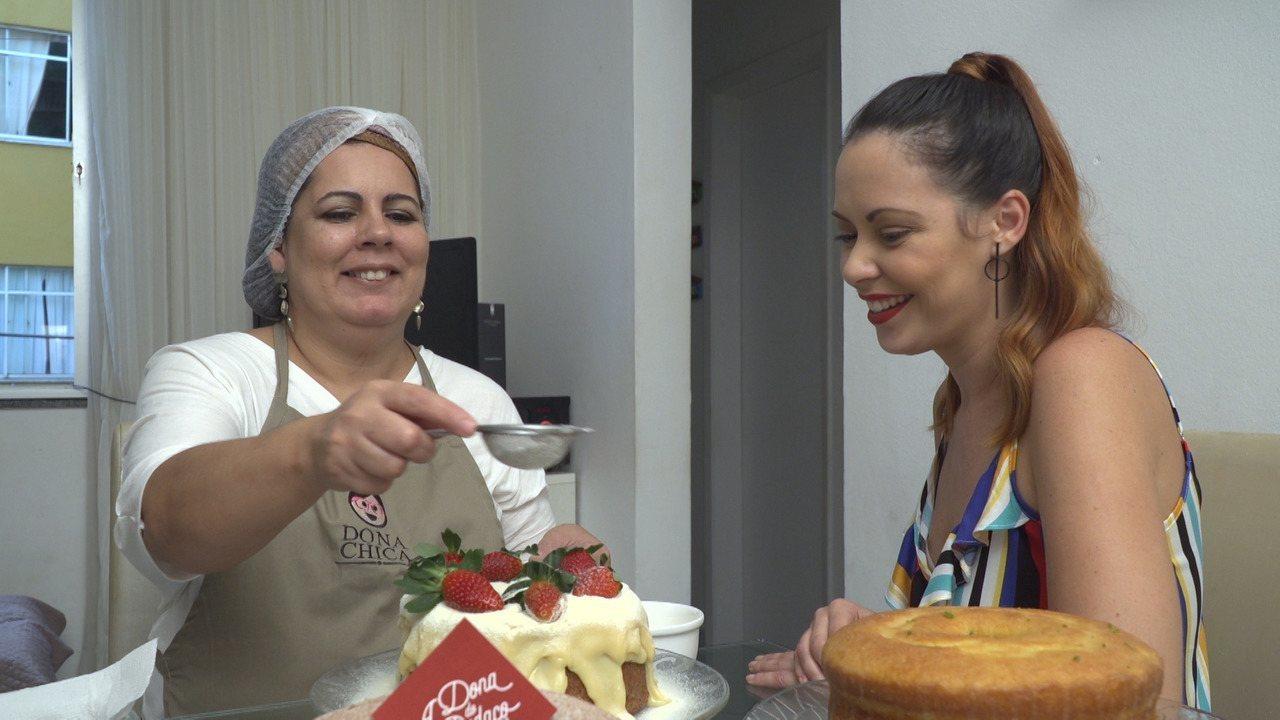 Briza conhece a confeiteira Marcela Dantas, 'A Dona do Pedaço' de Pernambués