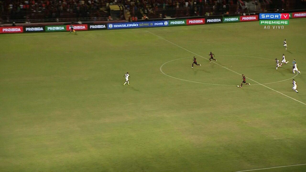 Veja os melhores momentos de Sport 3 x 1 Vitória