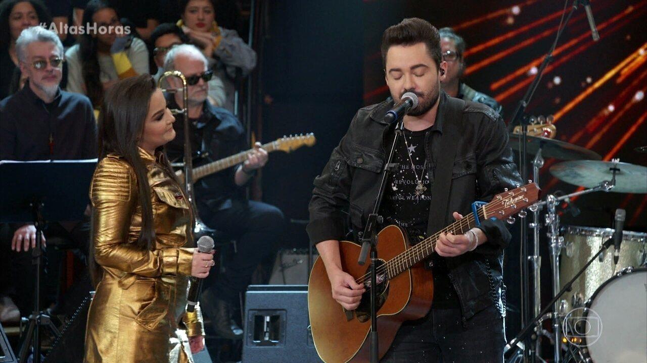 Maiara e Fernando cantam 'Amor Perfeito'