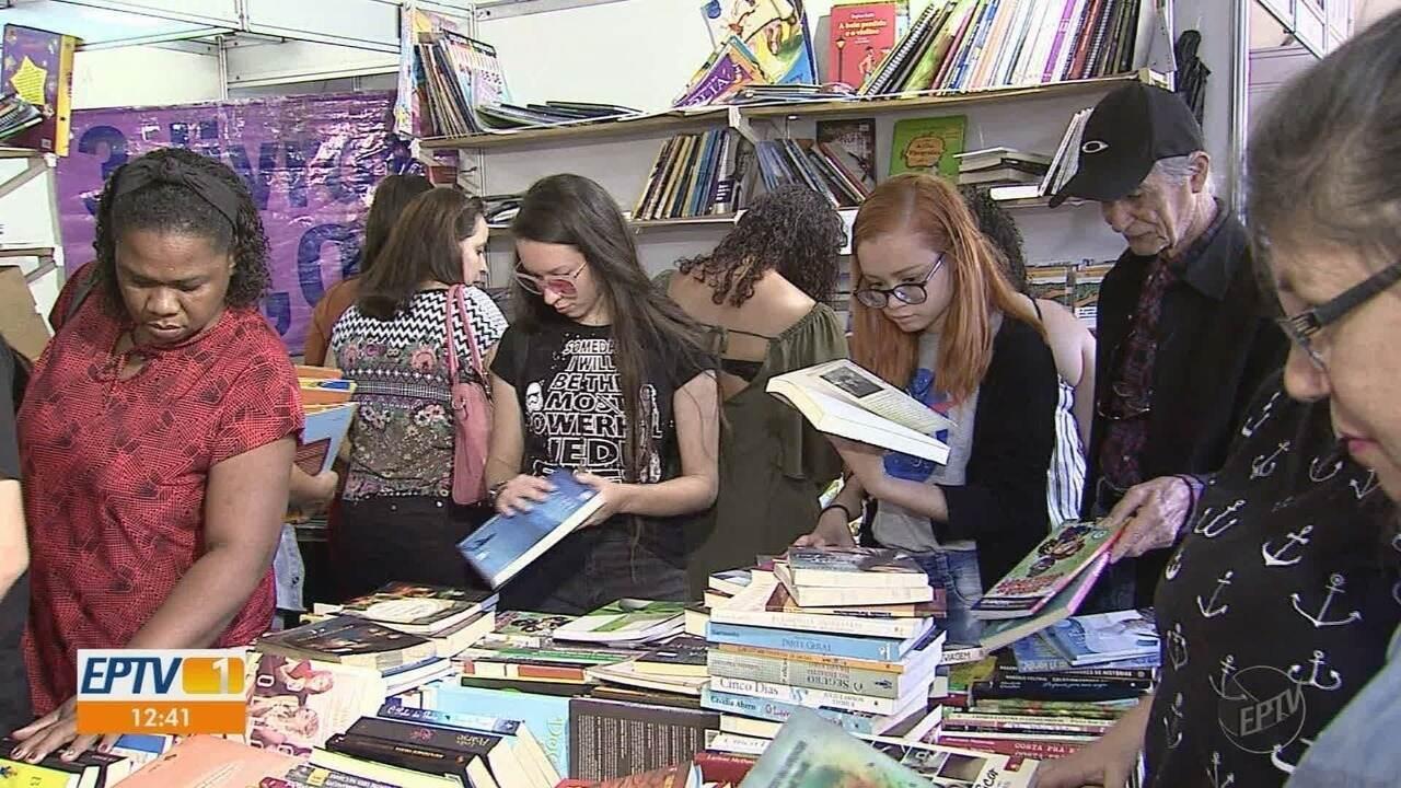 Feira do Livro de Ribeirão Preto espera receber 200 mil visitantes