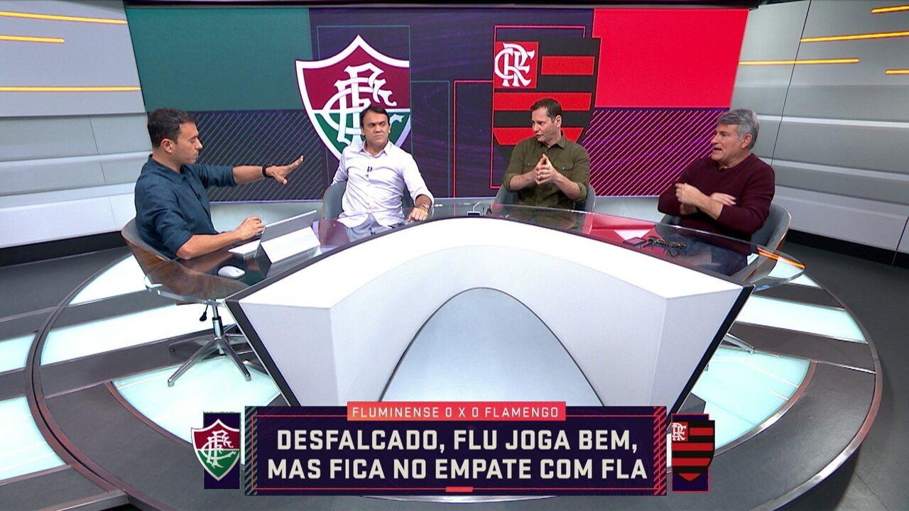 Comentaristas debatem empate no Fla Flu pelo Brasileiro