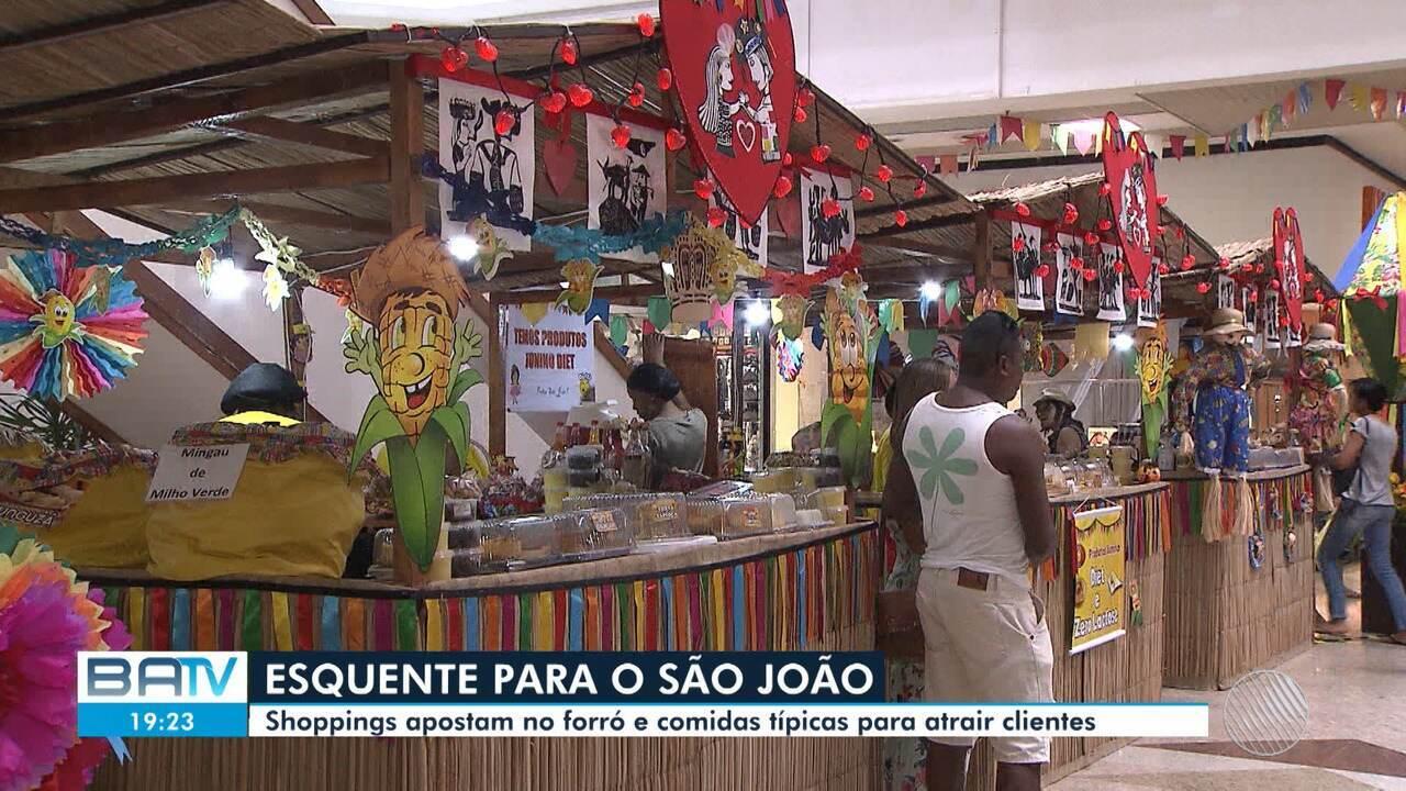 Shoppings da capital baiana investem em festas juninas para atrair a clientela