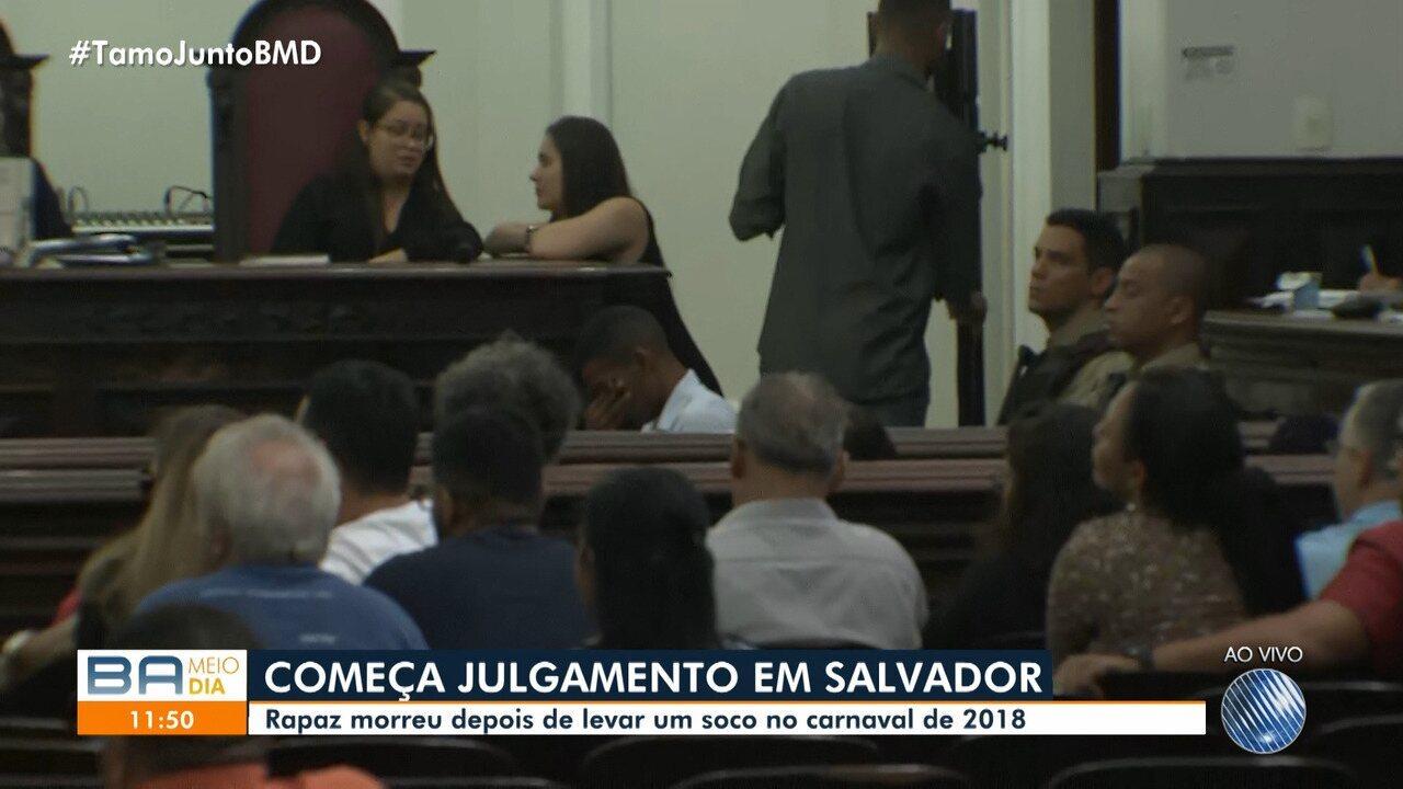 Acusado de matar folião no carnaval é julgado em Salvador
