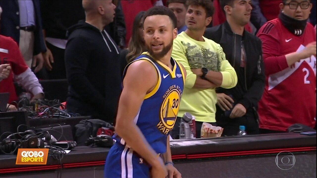 Golden State vence Toronto e continua vivo na final da NBA