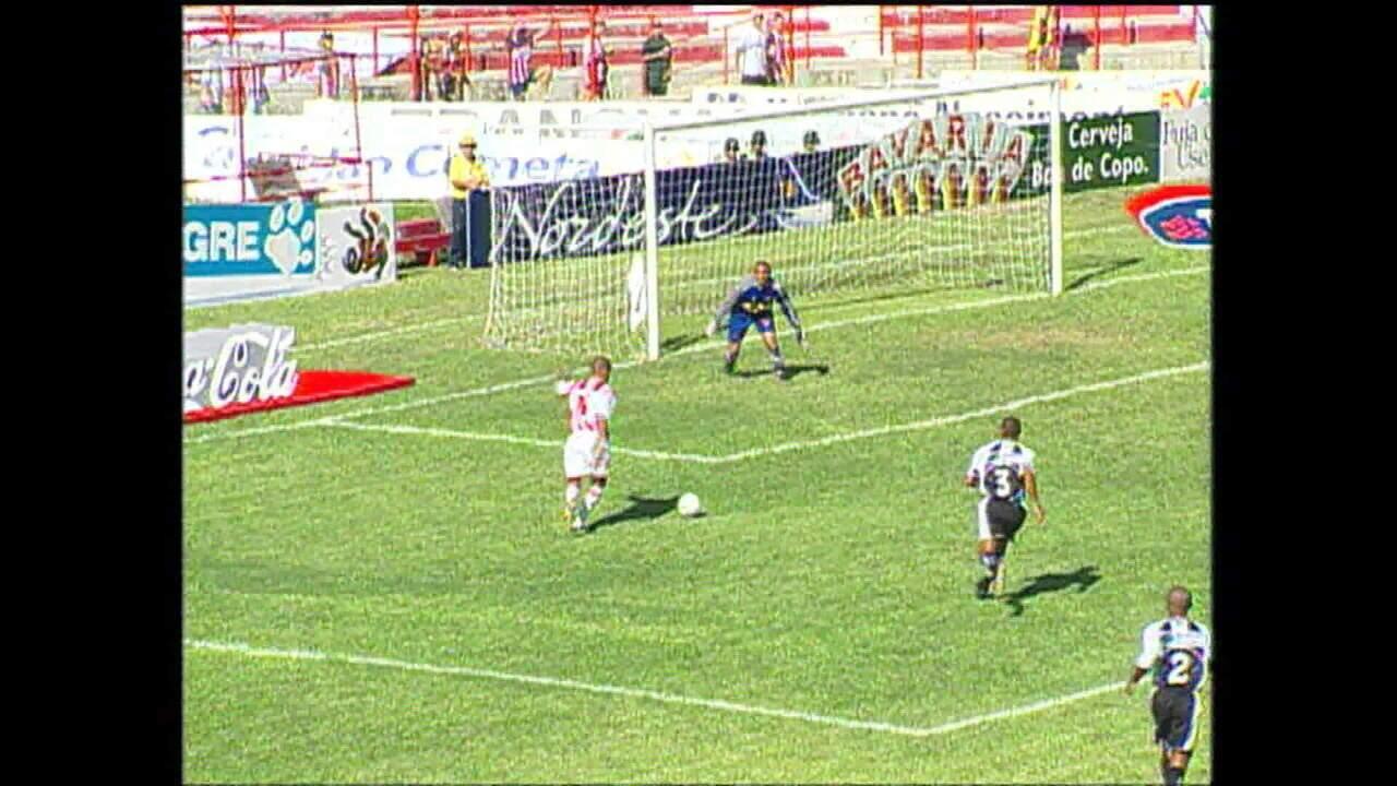 Náutico atropelou Botafogo em 2002