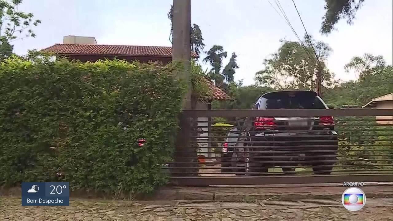 Andrea Neves depõe na sede da Polícia Federal, em Belo Horizonte