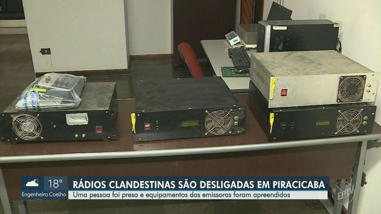 Polícia Civil e Anatel fecham três rádios clandestinas em Piracicaba