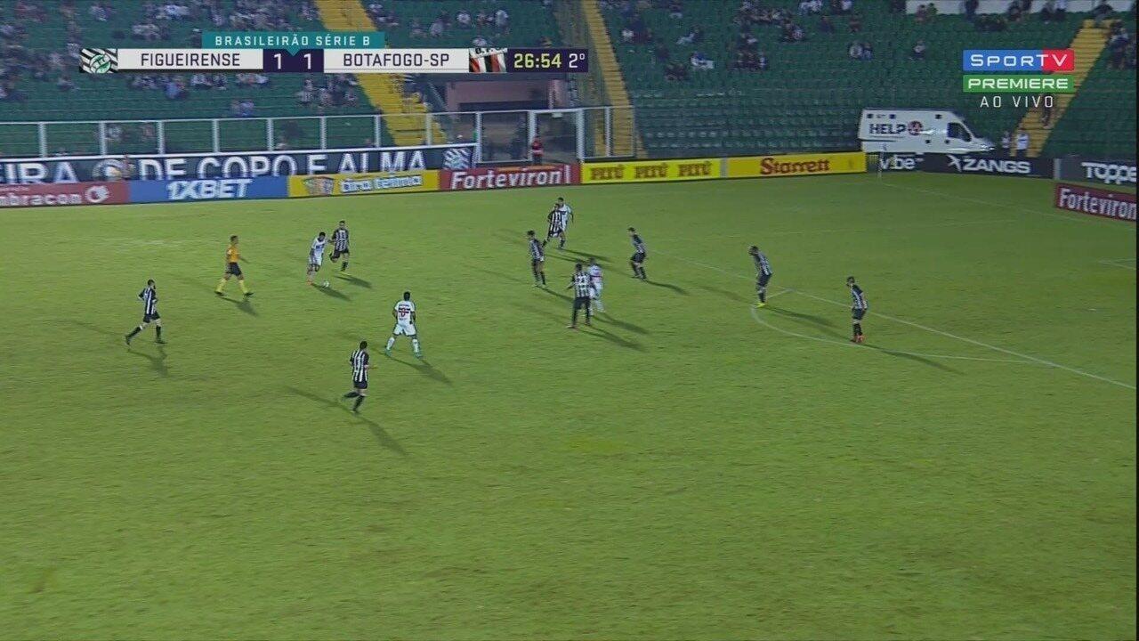 Melhores momentos de Figueirense 2 x 1 Botafogo-SP pela Série B do Campeonato Brasileiro