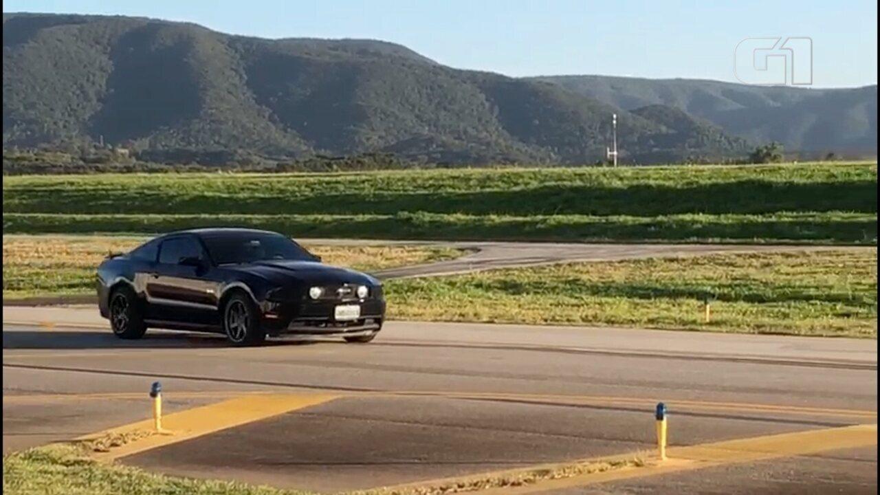 Aeroporto abre sindicância após carro dar cavalo de pau em pista na segunda-feira