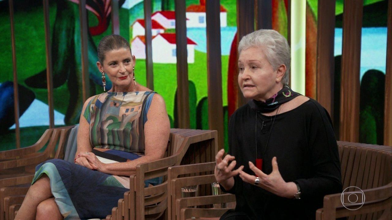 Tarsilinha e Maria Adelaide falam sobra a importância da arte