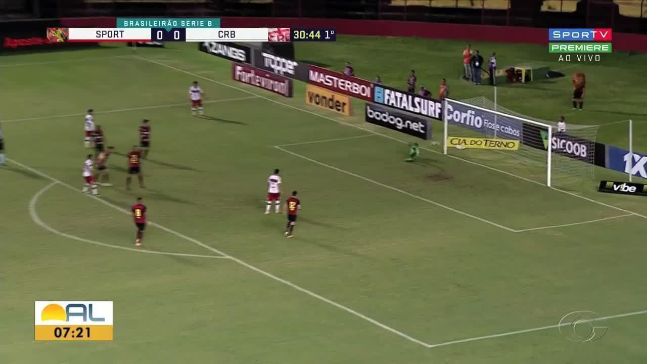 Na Ilha do Retiro, CRB perde para o Sport por 1 a 0