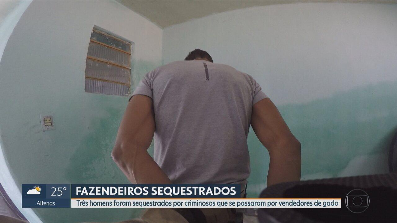 Polícia estoura cativeiro de fazendeiros e prende quatro integrantes de quadrilha em Minas