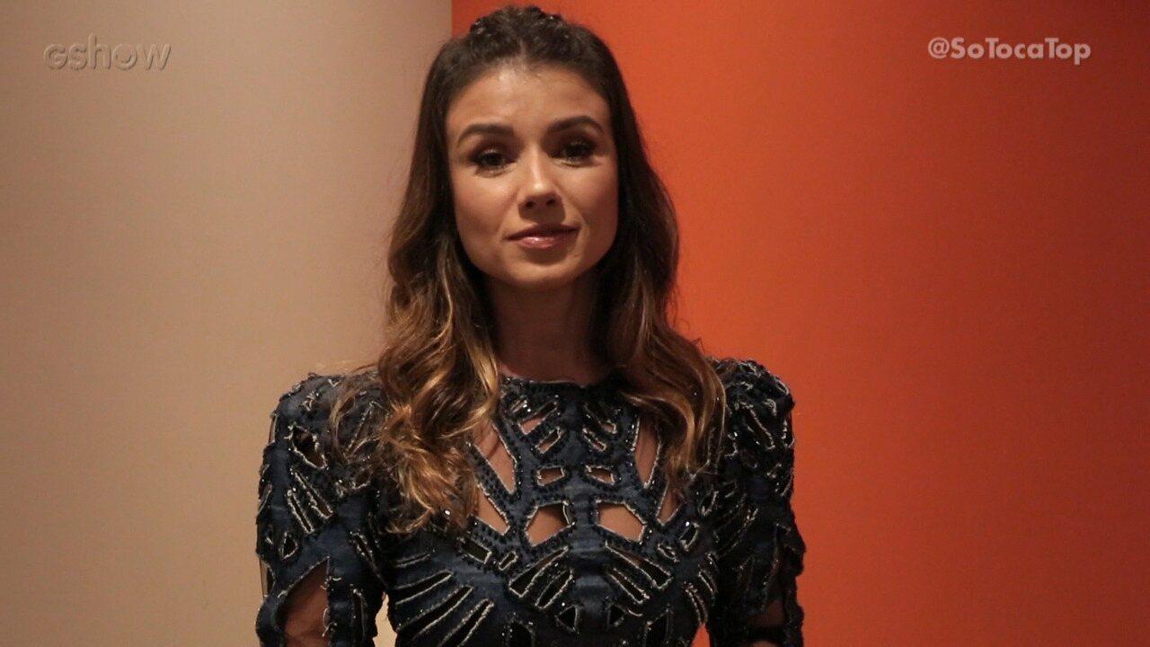 Paula Fernandes conta intimidades nos bastidores do 'SóTocaTop'