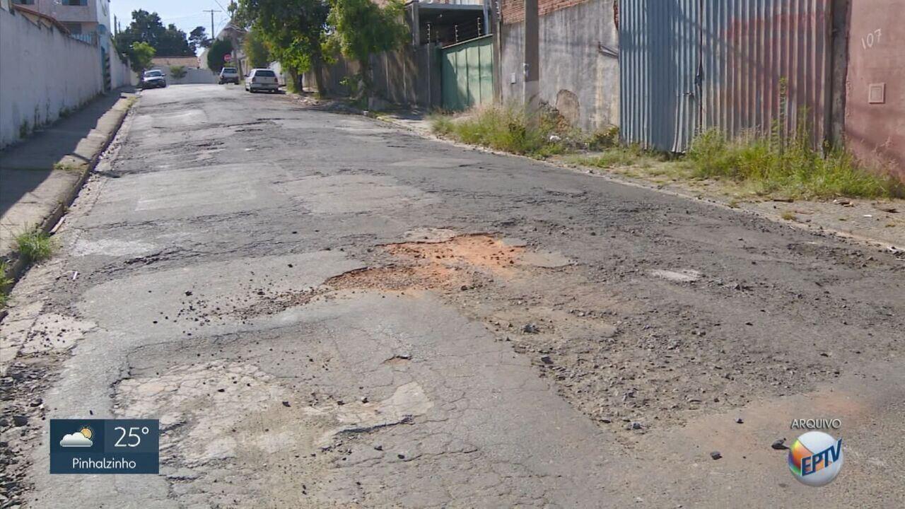 Buracos em ruas e avenidas concentram 26% das reclamações em aplicativo de Campinas