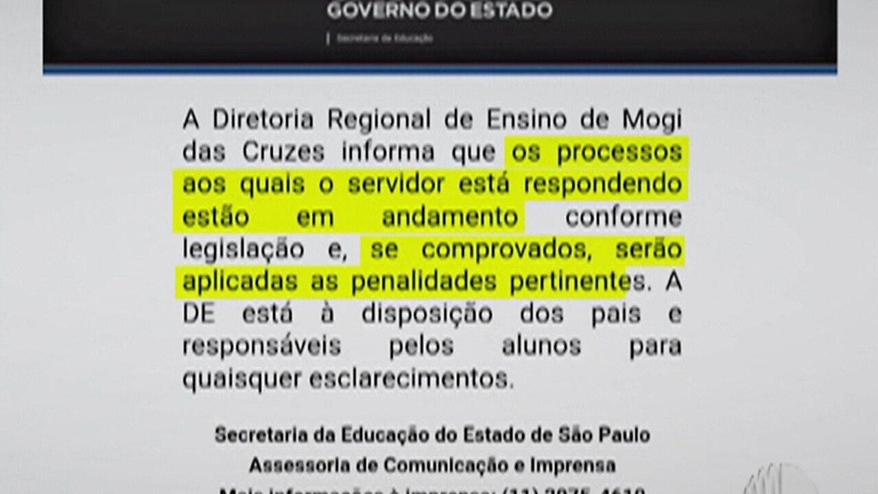 Alunas denunciam professor de escola estadual de Mogi das Cruzes