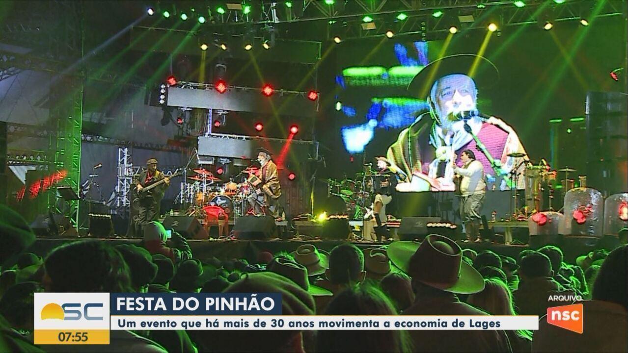 Festa Nacional do Pinhão começa nesta sexta em Lages