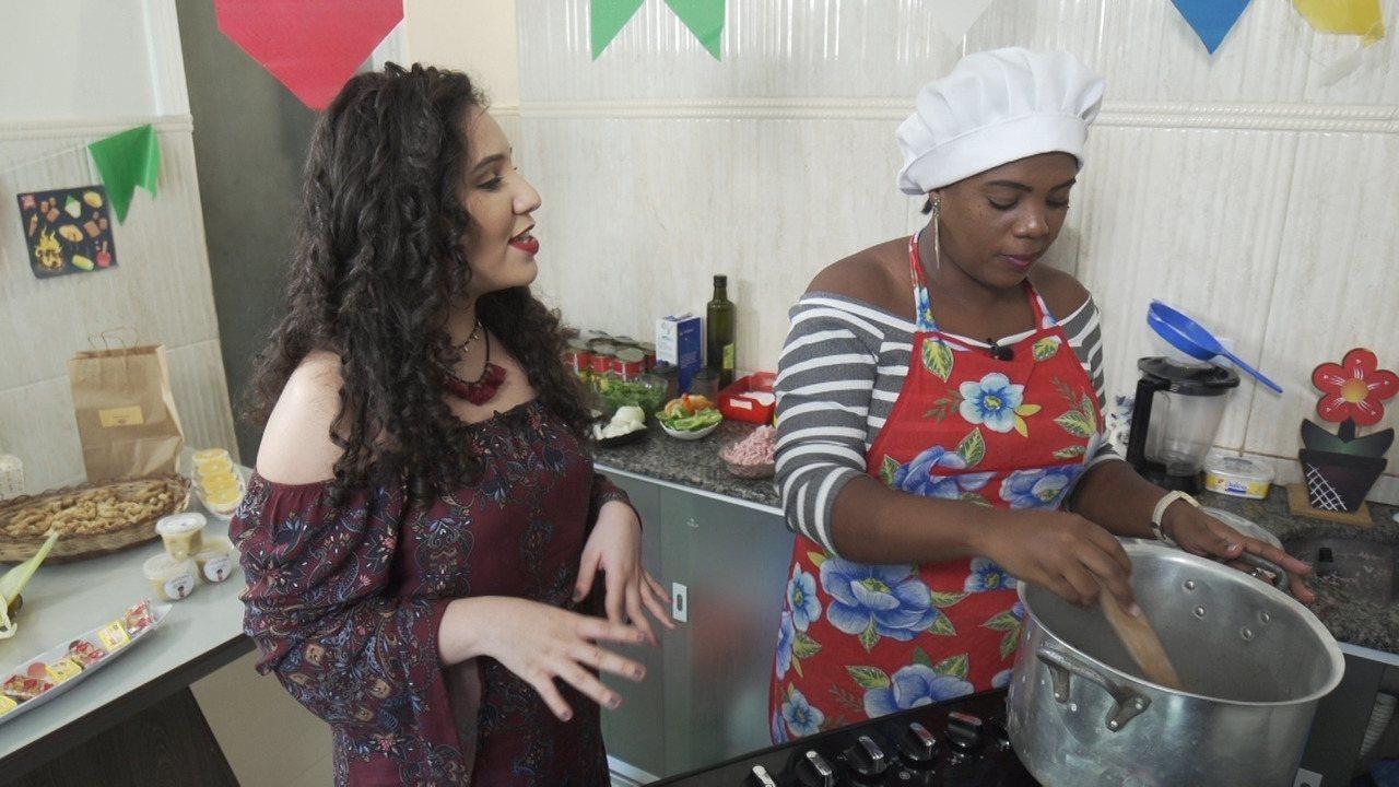 A série 'Festas Juninas' fala sobre a forte tradição da comida nesta época do ano