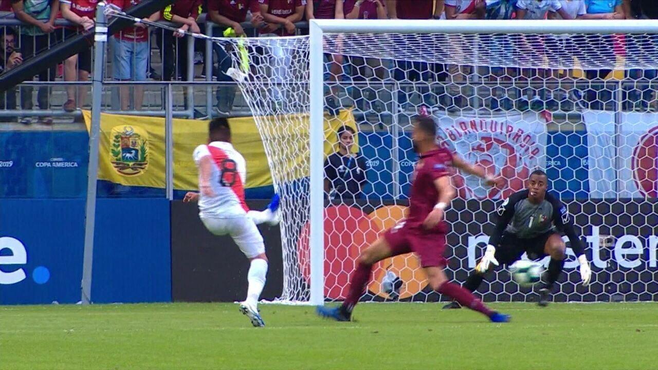 Melhores momentos: Venezuela 0 x 0 Peru pela Copa América 2019
