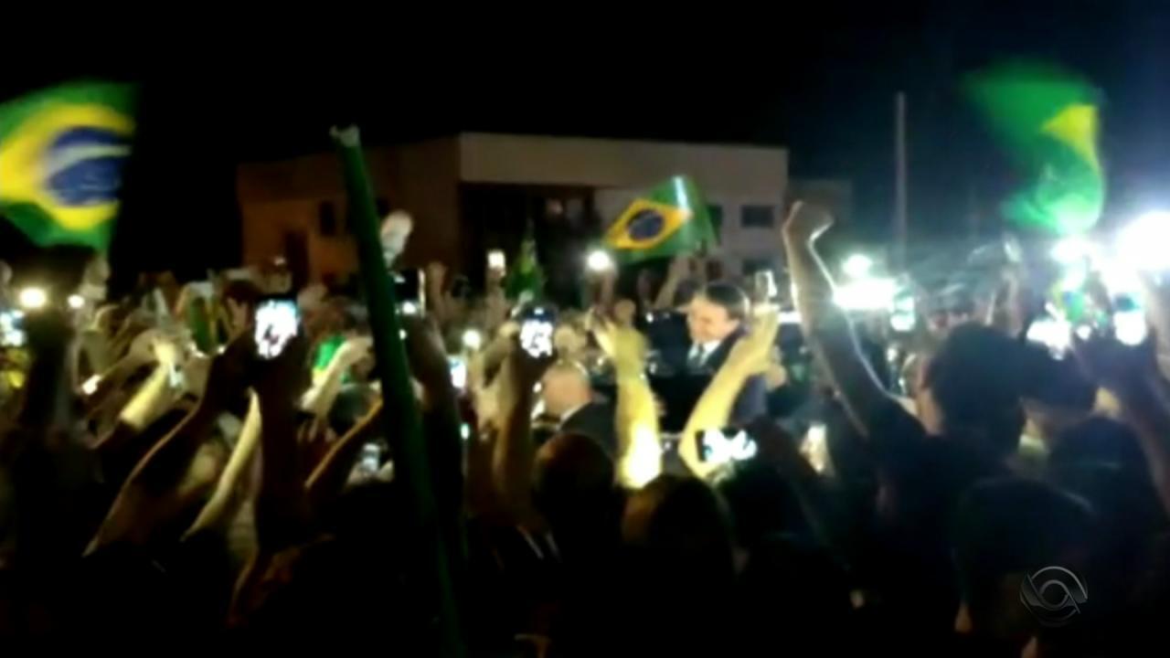 Presidente Jair Bolsonaro cumpre agenda em Santa Maria