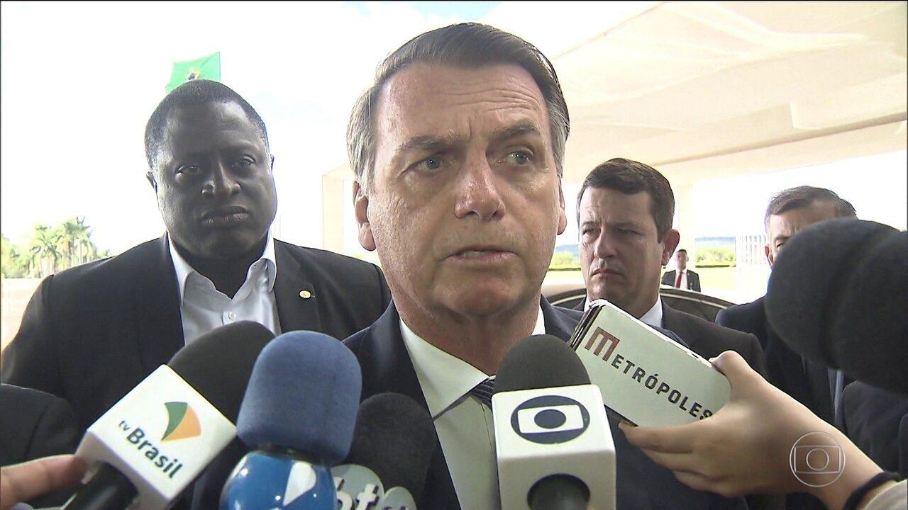 Bolsonaro volta a defender Moro