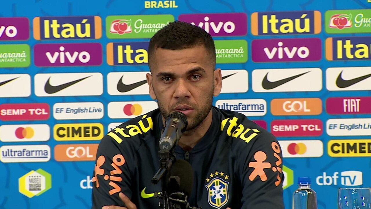 Daniel Alves comenta declaração sobre frieza da torcida em São Paulo