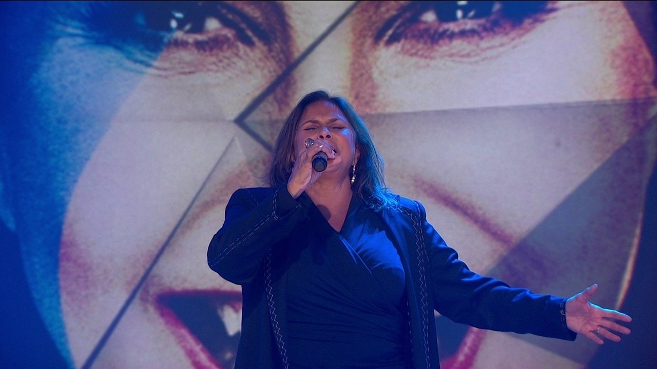 Fafá de Belém canta 'Nuvem de Lágrimas' no palco do Fantástico
