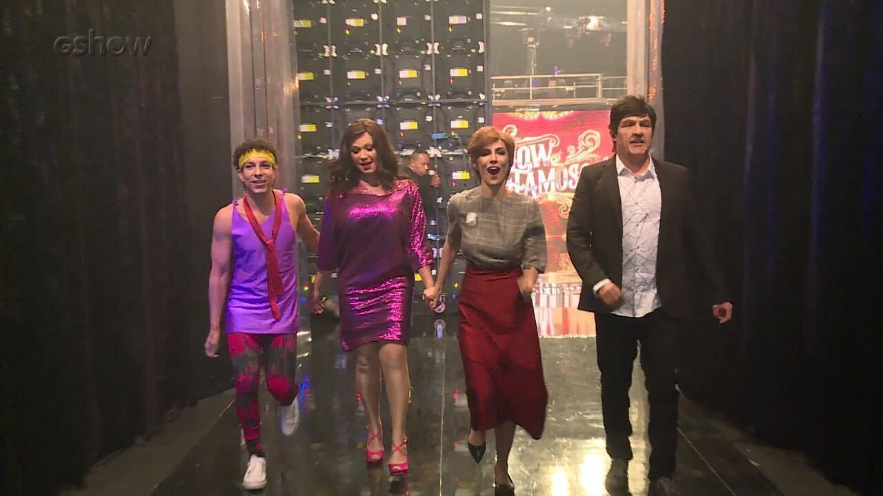 Grupo A repercute a sexta rodada do 'Show dos Famosos'
