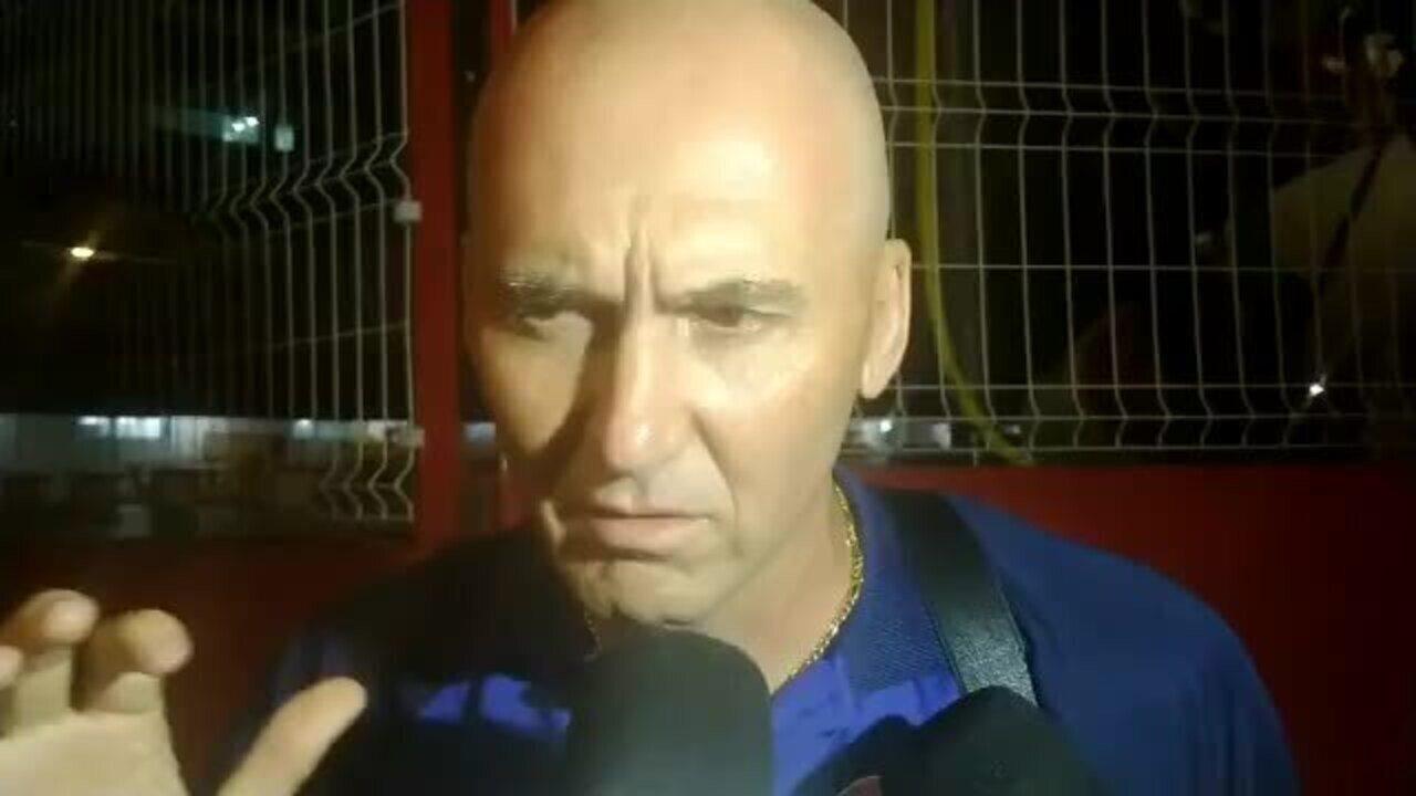 Gilmar Dal Pozzo mostra lado humano ao falar sobre adiamento da partida do Náutico