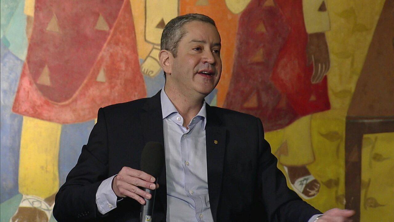 Presidente da CBF explica altos preços dos ingressos na Copa América e admite insatisfação com lugares ociosos